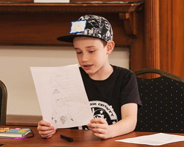 Saturday Writing Studio for grades 3-5:  Graphic Novels