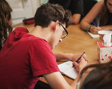 Summer Writing Camp: Teen Studio—Writing for Stress Relief and Happiness