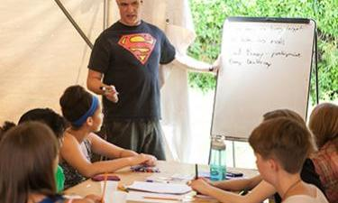 Online Summer Writing Camp: Books Into Movies for grades 3-5