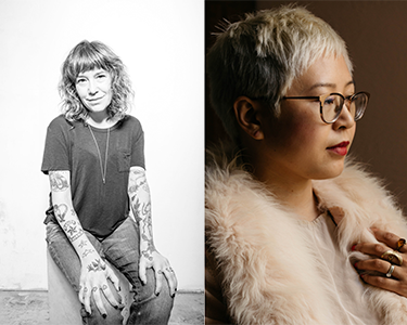 Inside the Writer's Studio: On-Stage Reading and Conversation with Michelle Tea and Esmé Weijun Wang (Student, Teacher, Senior, Veteran Ticket)